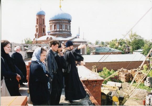 Строительство Барнаульской духовной семинарии