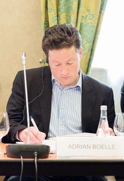 Адриан Бёлле, аспирант института практической теологии Гейдельбергского Университета