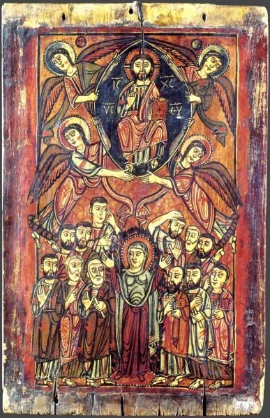 12.Византийская икона. VIII-IX в. Монастырь св.Екатерины, Синай, Египет