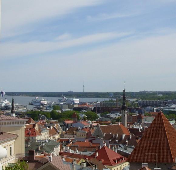 Таллин. Вид на старый город