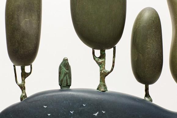 Фрагмент скульптурной композиции