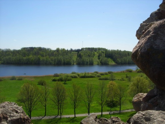 Центральная Эстония. В городе Вильянди