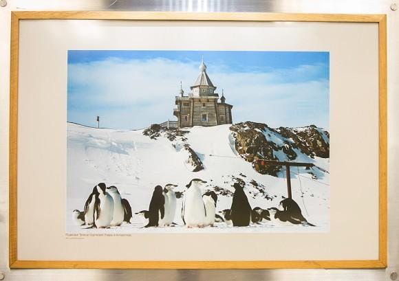 Подворье Троице-Сергиевой Лавры в Антарктиде. Фото Петра Задирова
