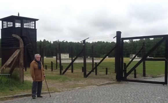 Ворота концлагеря Штутгоф. Сохранены в первоначальном виде
