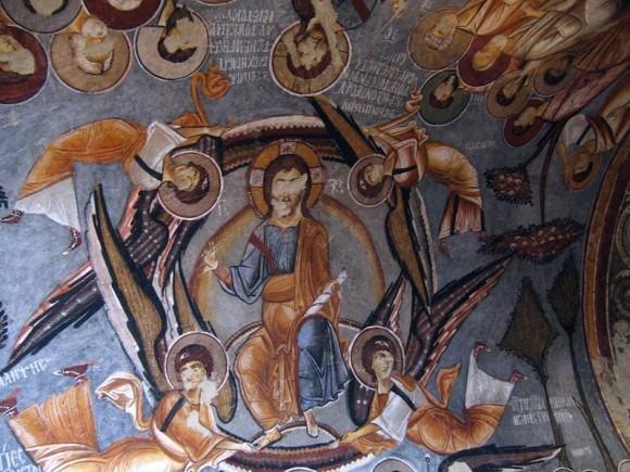 16.Фреска церкви Каранлик в Гёреме. XI-XIII в. Каппадокия, Турция