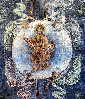 17.Фреска церкви Св.Софии в Охриде. Середина XI в. Македония
