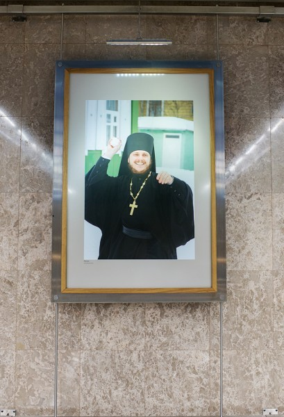 Монах. Фото Владимира Ештокина