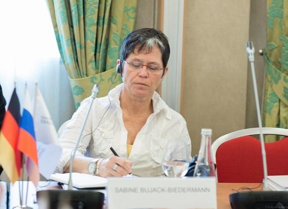 Сабине Буяк-Бидерманн, журналист, вице-президент Синода Федеральной земли Евангелической церкви Центральной Германии