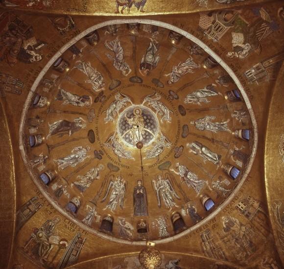 22.Мозаика центрального купола собора Сан-Марко. XII в. Венеция,Италия