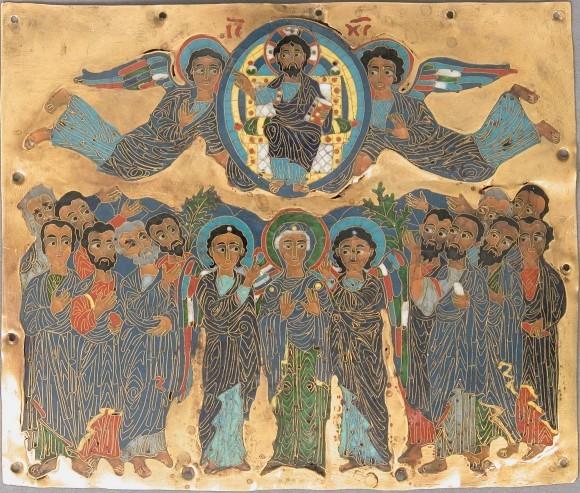 27.Стилизация под византийскую эмаль. Европа. XIX в. Метрополитен Музей, Нью-Йорк, США