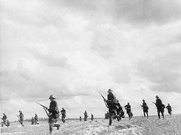 31. Контратака советских войск. Донецкая область, октябрь 1941 г.