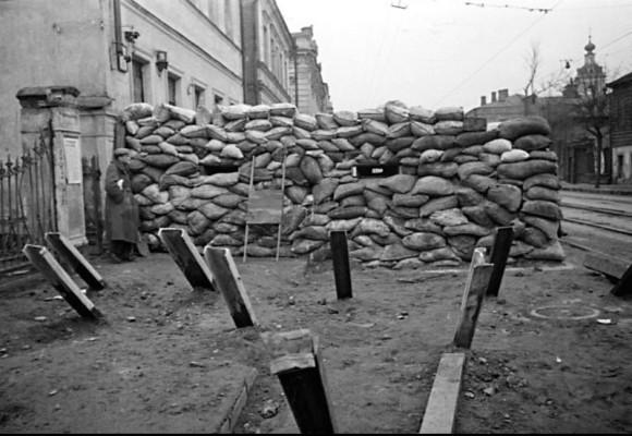 35. Москва готова к обороне. 1941 г.