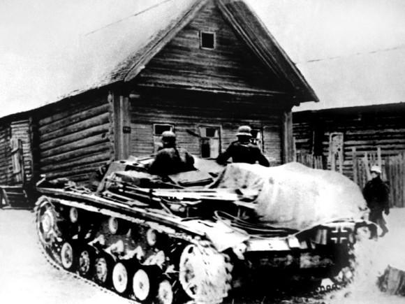 41. Немецкая зачистка деревни. 1941 г.