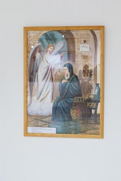 В. Кудрявцева, 11лет «Благовещение Пресвятой Богородицы»
