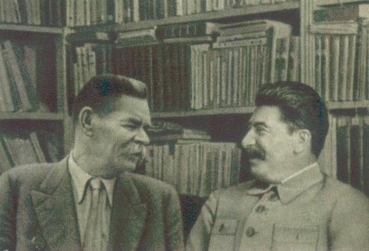 Сталин и Горький