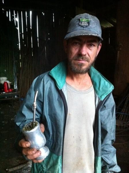 Житель деревни Панамби, Аргентина