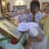 Донецкий храм получил в дар икону с частицей мощей святого Валентина