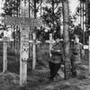 В Калининградской области установили памятный крест на месте захоронения русских воинов Первой мировой