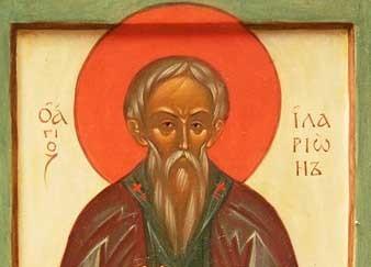 Церковь чтит память преподобного Илариона Нового, Далматского
