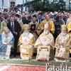В день памяти святого равноапостольного князя Владимира Предстоятели Поместных Церквей совершили литургию на соборной площади Киево-Печерской лавры
