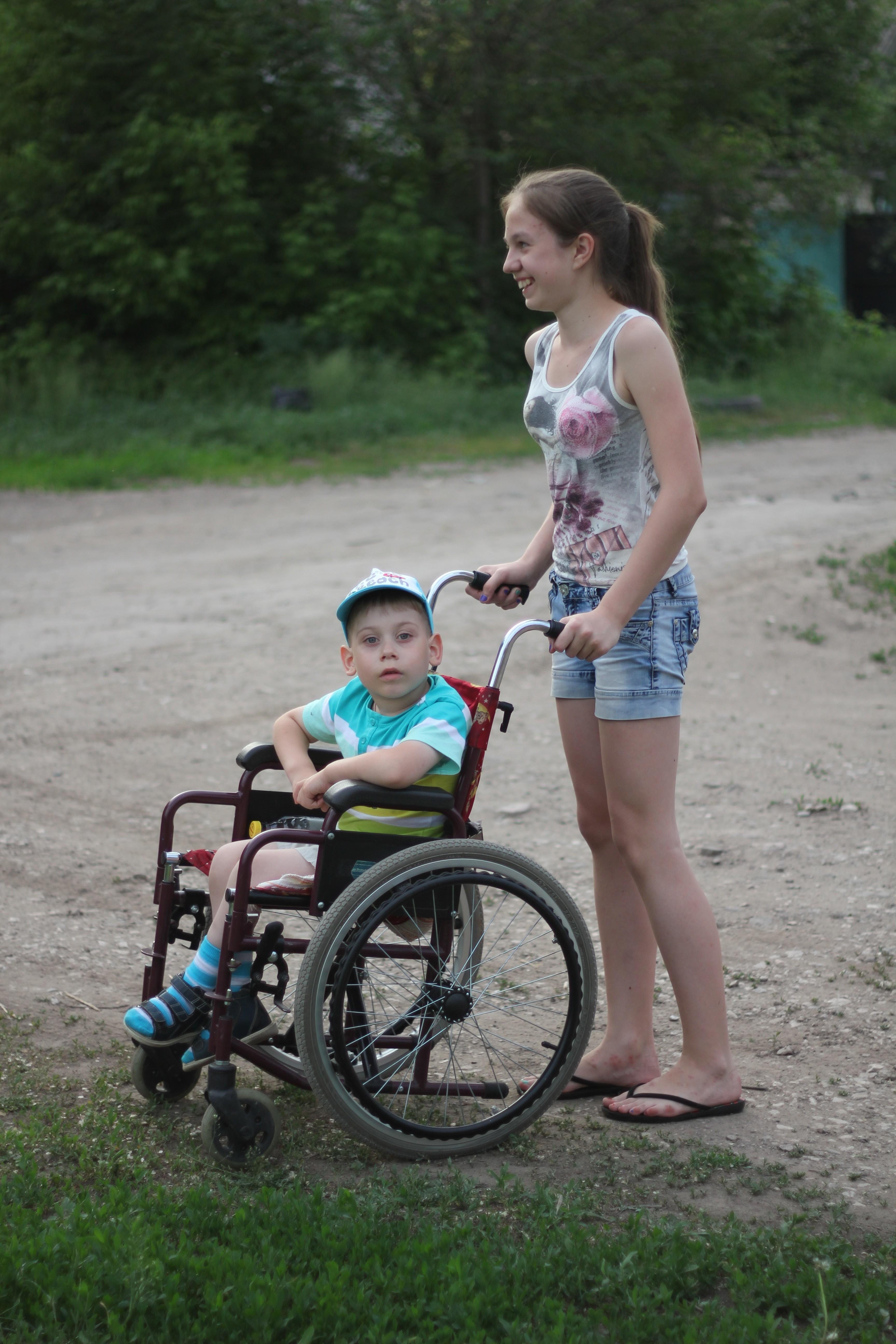 Фото мам с детьми инвалидами