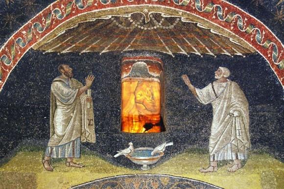 Мозаика мавзолея Галлы Плацидии в Равенне. Около 425 г. Италия