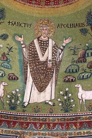 Apse Mosaic: St. Apollinaris