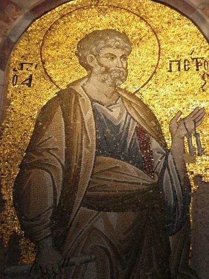 Мозаика церкви монастыря в Хоре (Кахрие-джами) в Константинополе. Нач. XIV в. Стамбул, Турция