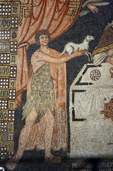 29166-sant-apollinare-classe-ravenna-presbytery-mosaic-abel-lamb