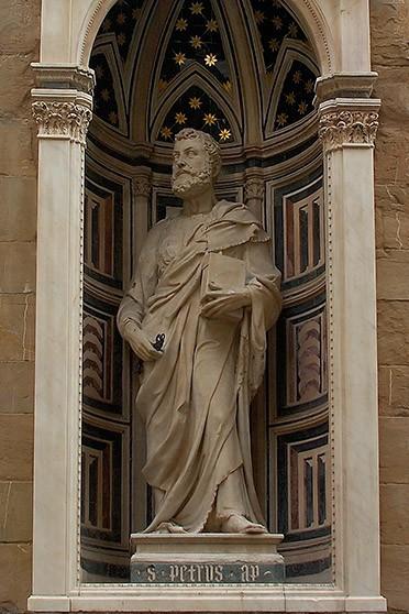 Бернардо Чуффаньи. Скульптура фасада церкви Орсанмикеле во Флоренции. 1415г. Италия