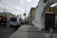 Пожар в Елизаветинской гимназии