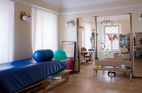45.В Центре проводится комплексная реабилитация больных с различными формами ДЦП