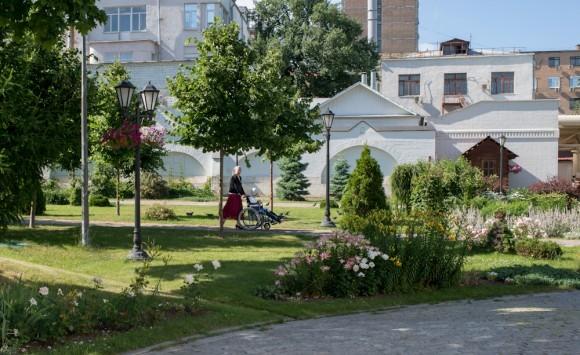 В Москве создадут тактильный сад для слепых и слабовидящих людей