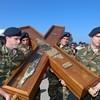 Крест Андрея Первозванного завтра будет доставлен в Подмосковье