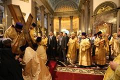 У креста апостола Андрея Первозванного (фото)