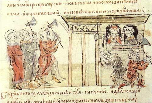 Церковь празднует память святых мучеников Феодора Варяга и сына его Иоанна
