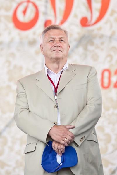 Один из организаторов фестиваля - Александр Крутов , Президент Международного Фонда славянской письменности и культуры