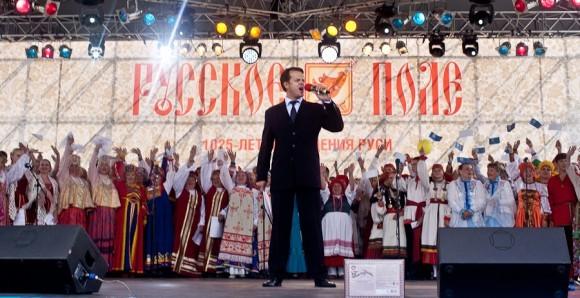В сводном хоре приняли участие солисты творческих коллективов из 40 землячеств – это рекорд фестиваля