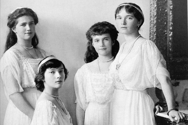 Сестры Романовы: «Noblesse oblige»