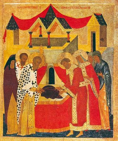 Православная Церковь вспоминает положение Честной ризы Пресвятой Богородицы во Влахерне