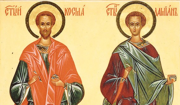Церковь чтит память святых бессребренников Косьмы и Дамиана