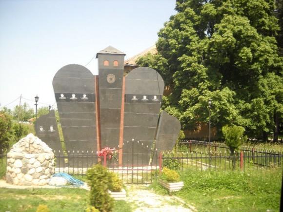 Памятник воинам УЧК