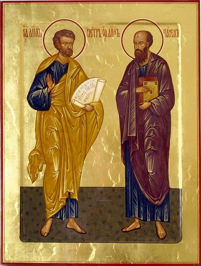 апостолы петр +и павел