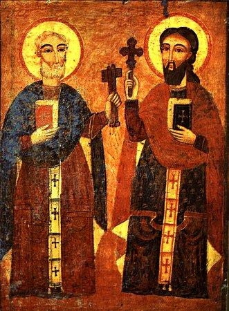 святые апостолы петр +и павел