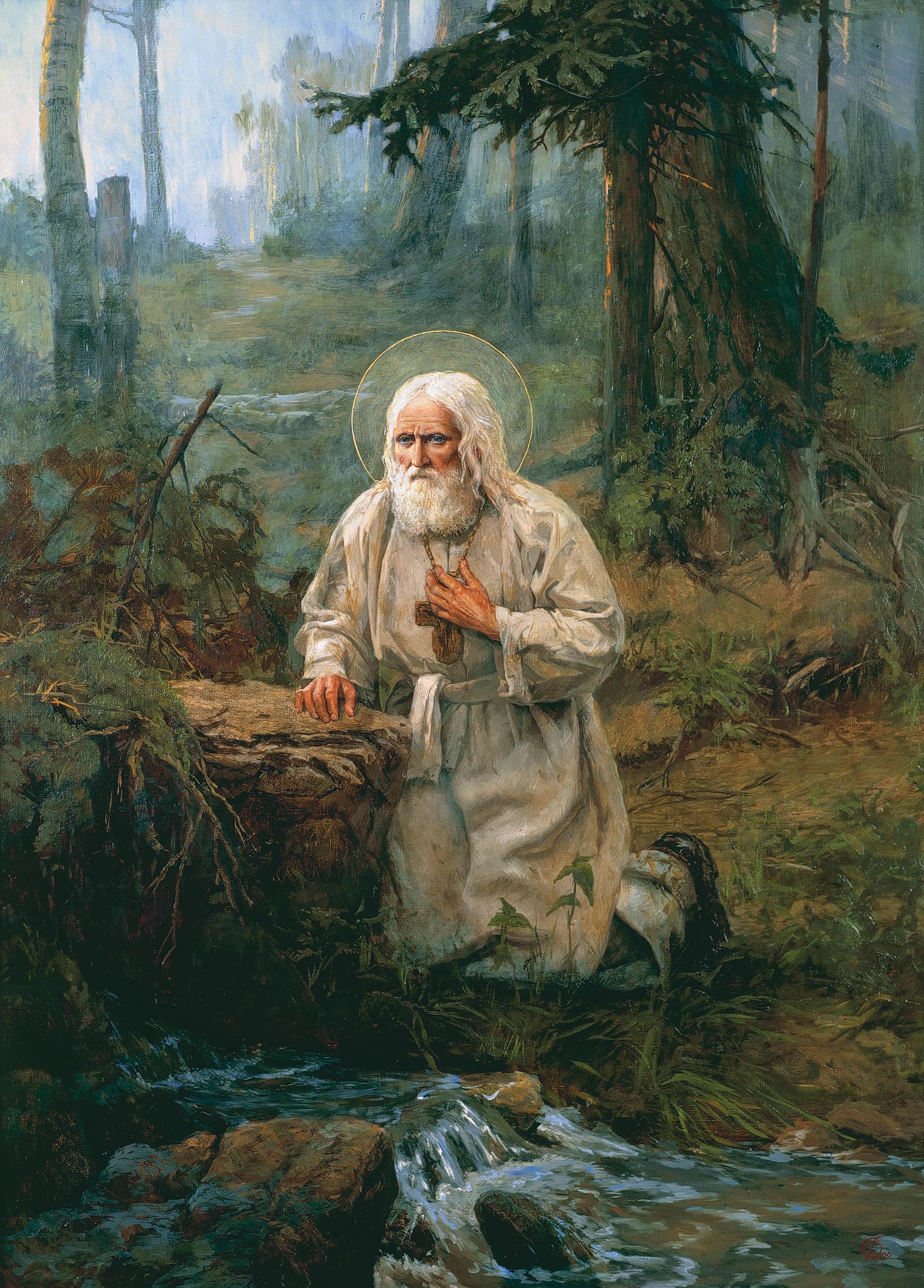 ... Саровский: иконы, житие, молитва: www.pravmir.ru/prepodobnyj-serafim-sarovskij-zhitie-ikony...