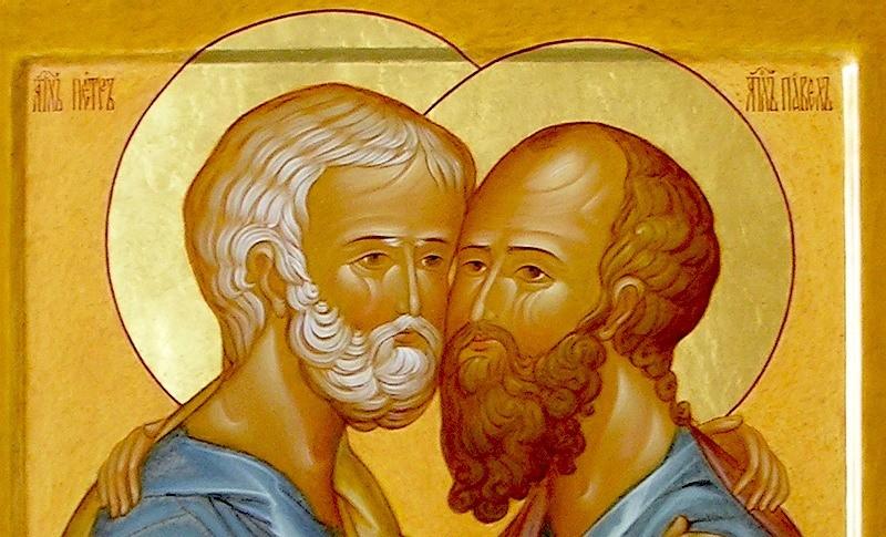 Святые первоверховные апостолы Петр и Павел: день памяти