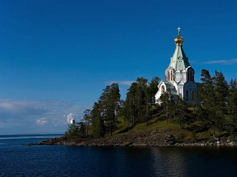 Начинается визит Патриарха Кирилла на Валаам