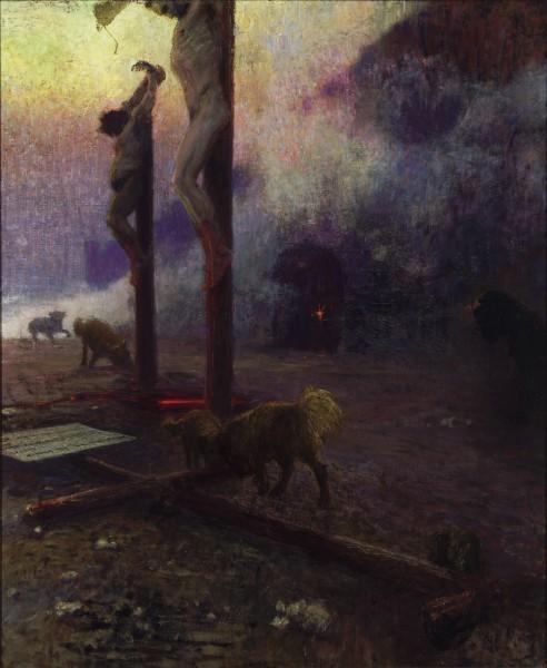 «Голгофа». 1921-1922