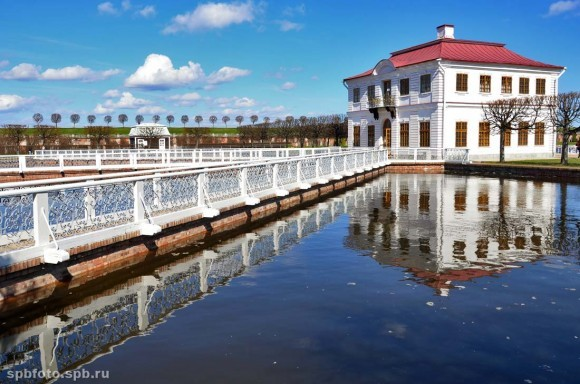 Дворец Марли и Марлинский пруд