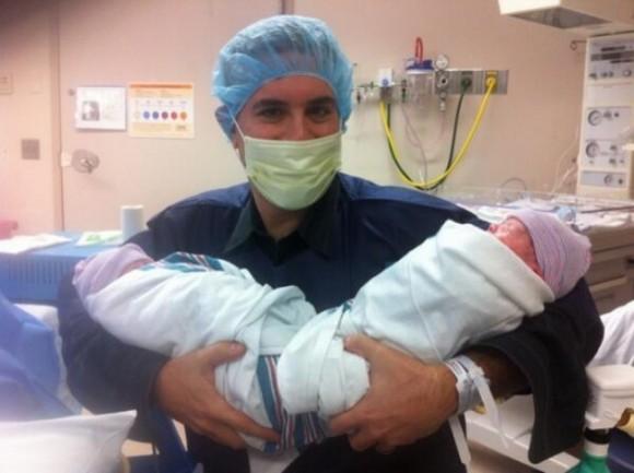 День, когда появились на свет мои близнецы — мальчик и девочка!